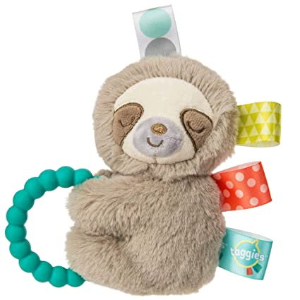 Soft Rattle With Teether Ring