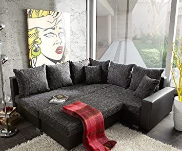 Couch Lavello Mit Hocker Ecksofa L Sofa Eckcouch Links Mit Hocker
