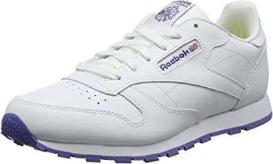 Reebok Classic Leather, Zapatillas Unisex Niños: Amazon.es ...