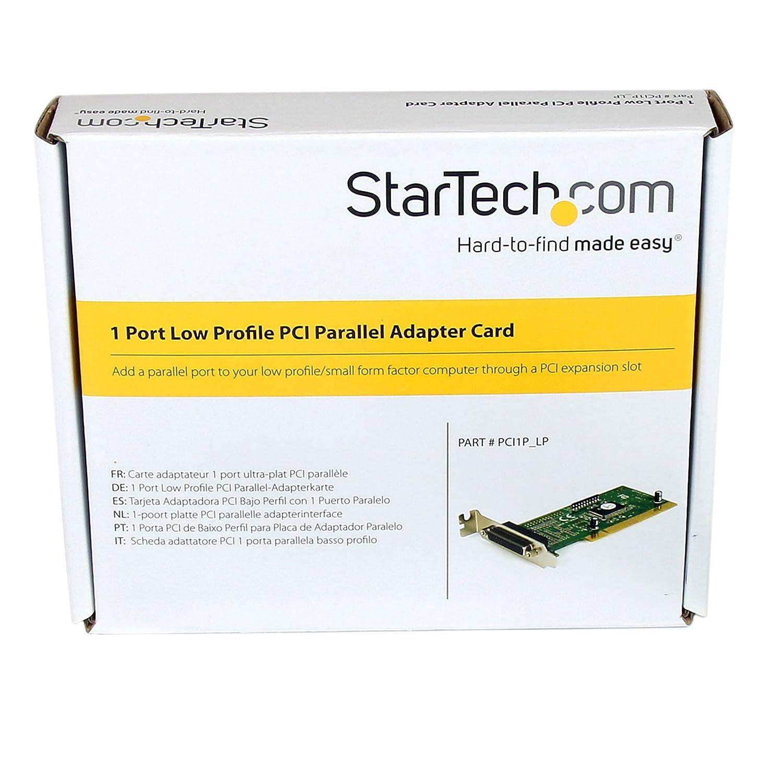 StarTech PCI1P_LP Windows 8 X64 Driver Download