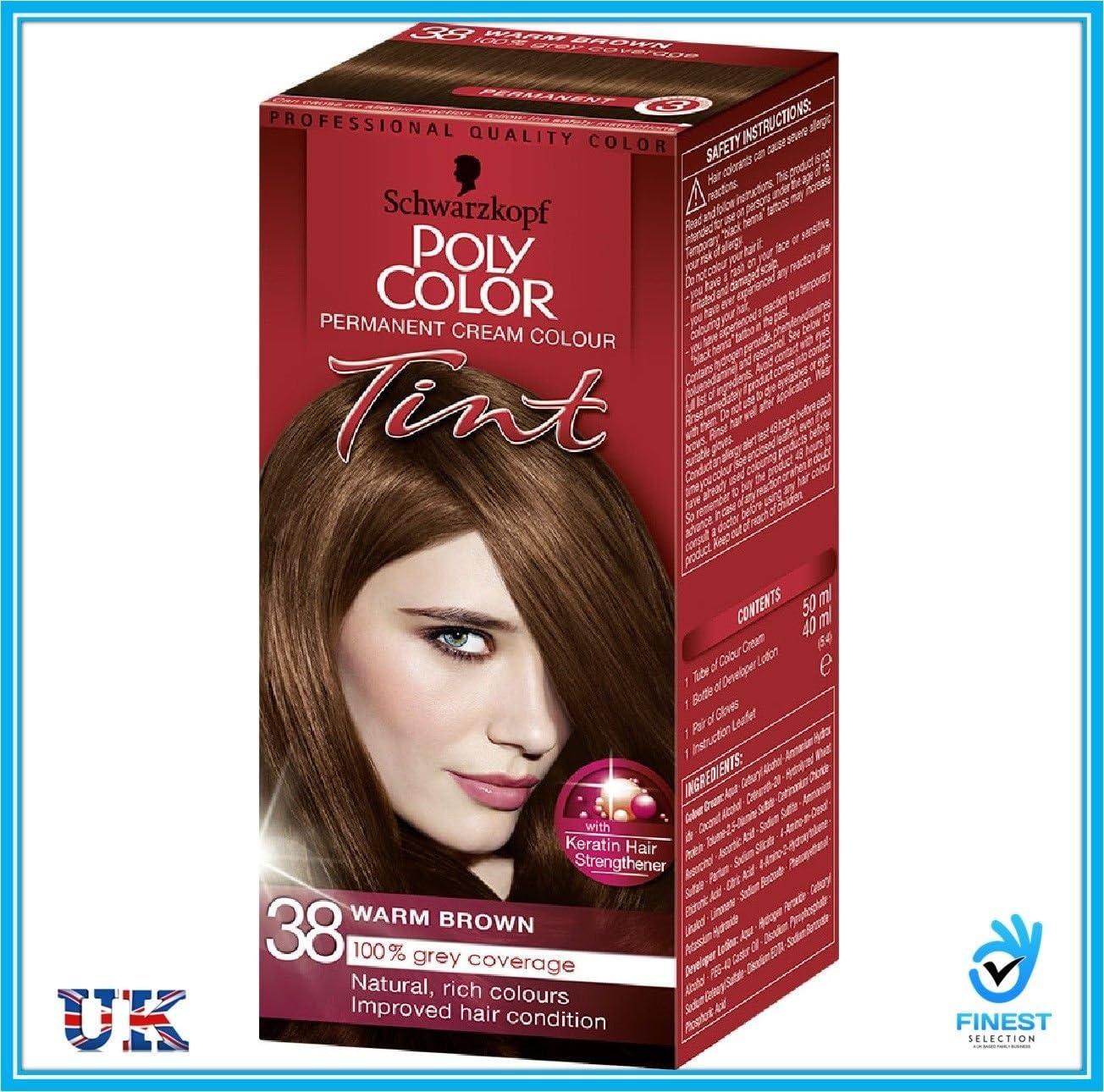 Schwarzkopf Poly Color Permanente Crema color tinte pelo ...