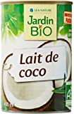 Jardin Bio Lait de Coco 400 ml - Lot de 6
