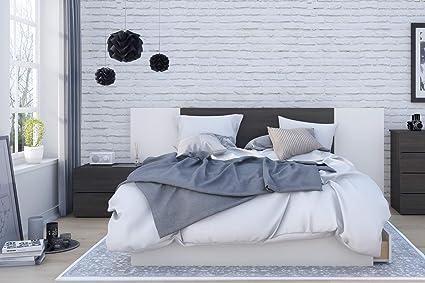 Brilliant Amazon Com Nexera Cadence 4 Piece Queen Size Bedroom Set Download Free Architecture Designs Pendunizatbritishbridgeorg