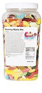 Sarah's Candy Factory Gummy Mania Mix in Jar (5 lb)