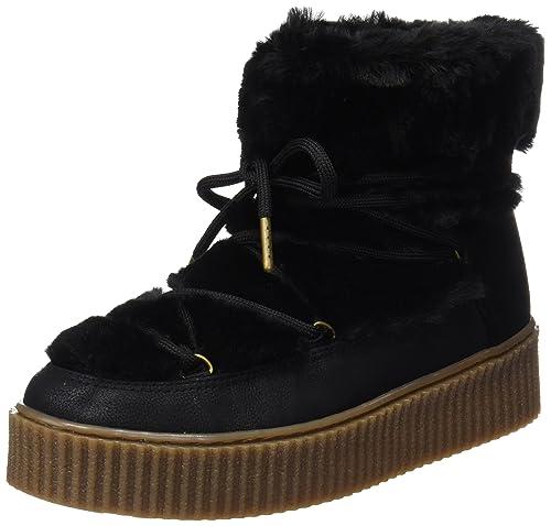 Gioseppo 41.138, Botas de Nieve Mujer, Negro (Black), 36 EU: Amazon.es: Zapatos y complementos