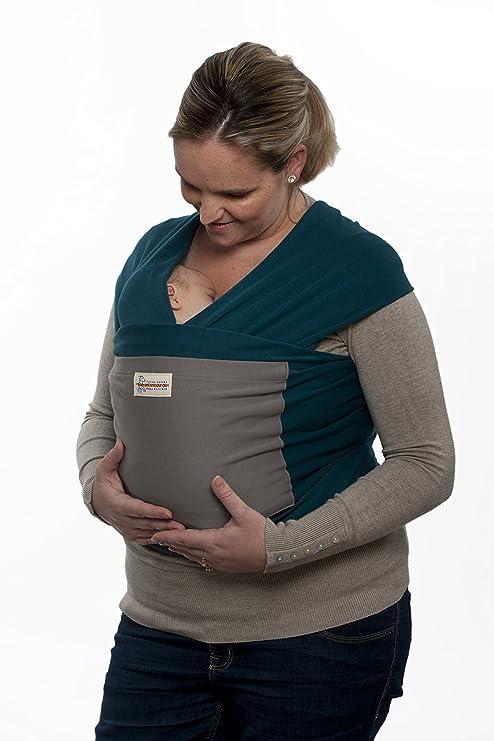 Maman Kangourou Stretchy Wrap Grey