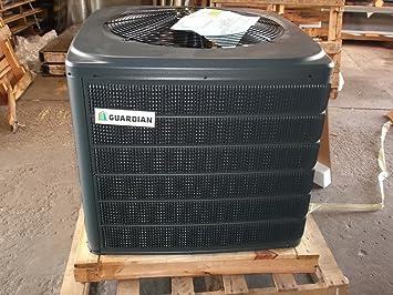 york heat pump. york guardian rhp13r244s21 2 ton r410a 13 seer heat pump condenser only -this unit can