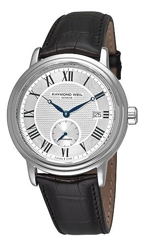 Raymond Weil 2838-STC-00659 - Reloj de pulsera hombre, Cuero: Amazon.es: Relojes