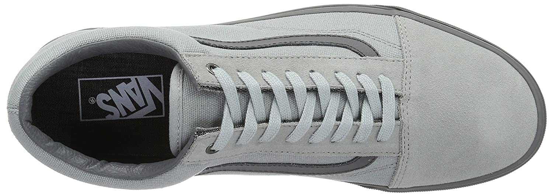 Vans Unisex Old Skool Classic Skate Shoes B01I22EDBO 10.5|High-rise/Pewter