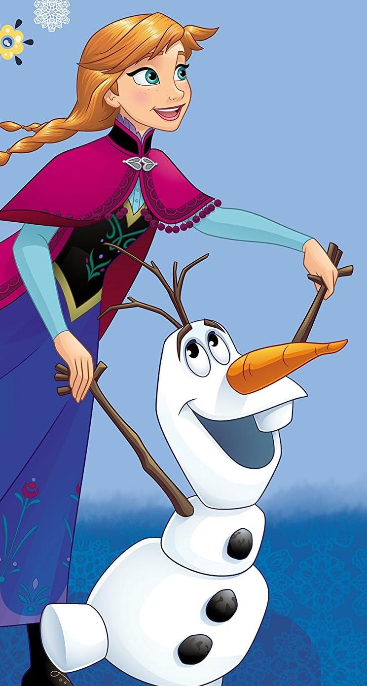 ディズニー Iphonese 5s 5c 5 壁紙 視差効果 アナと雪の女王 アナ