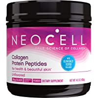 NeoCell Collagen Protein Peptides For Heathy & Beautiful Skin, Unflavored 14.3 Ounce Tub (Package May Vary)