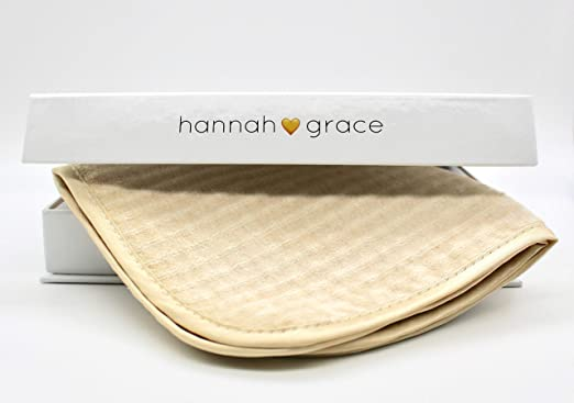 Hannah Natural Microfiber Exfoliation Face Washcloths