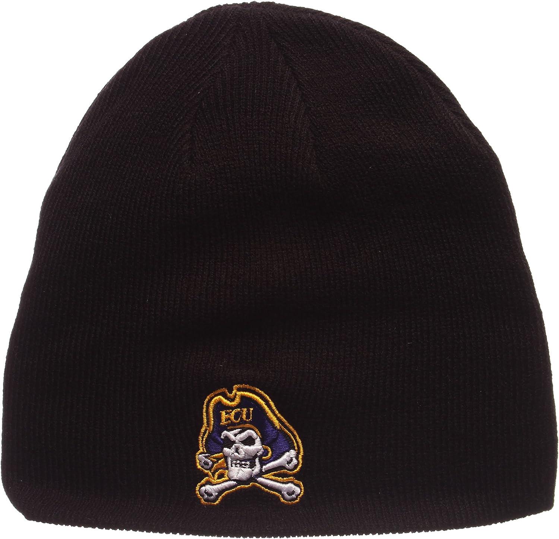 NCAA Cuffless Winter Strick Beanie Toque Hat Zephyr Edge Skull Cap