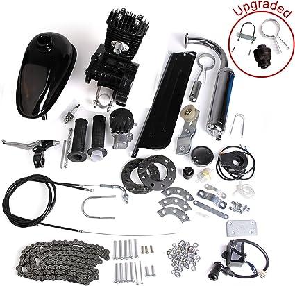 Kit de motor de 2 tiempos y 80 cc para bicicleta motorizada ...