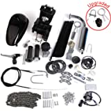 AURELIO TECH 80cc 2-Stroke Motor Engine Kit Gas for Motorized Bicycle Bike Black