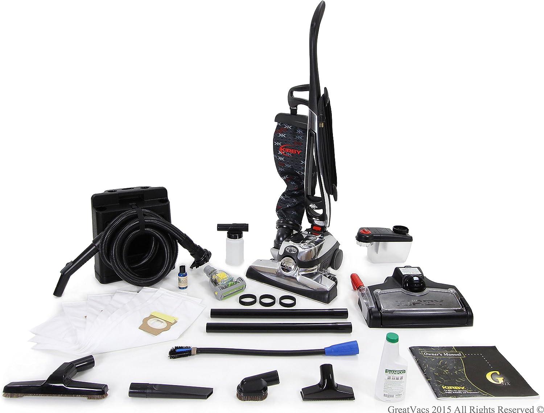 GV El aspirador con herramientas, shampooer, bolsas Negro: Amazon ...