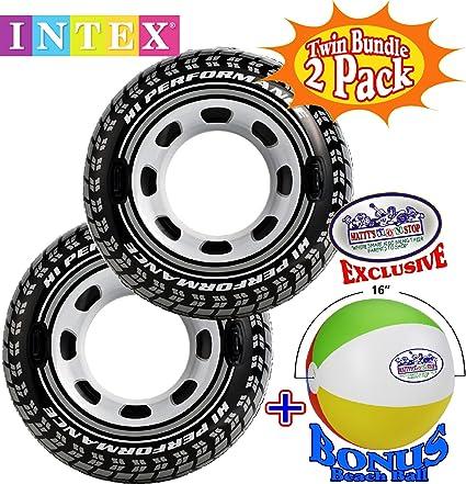 Amazon.com: Intex hinchable Monster Truck neumático tubos ...