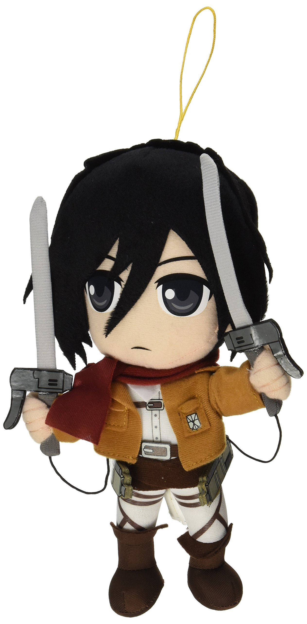 "Great Eastern Attack on Titan 12.12"" Mikasa Ackerman Plush - Buy"
