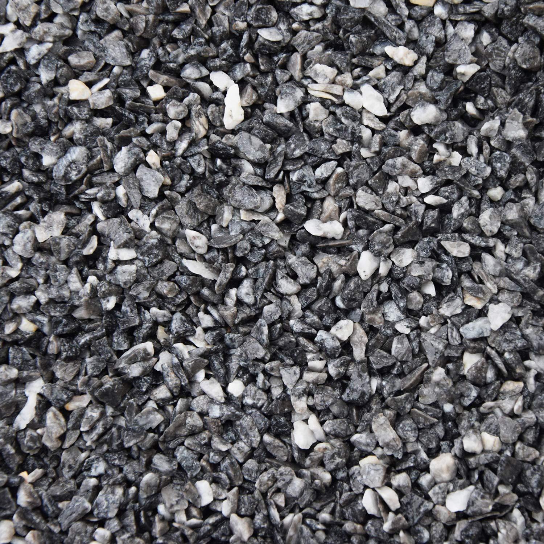 Kiesboden Steinteppich Grigio Carnico 2,4m/² Kieselboden Epoxidharz Bindemittel 25kg Marmorkies + 1,5kg Bindemittel Steinboden