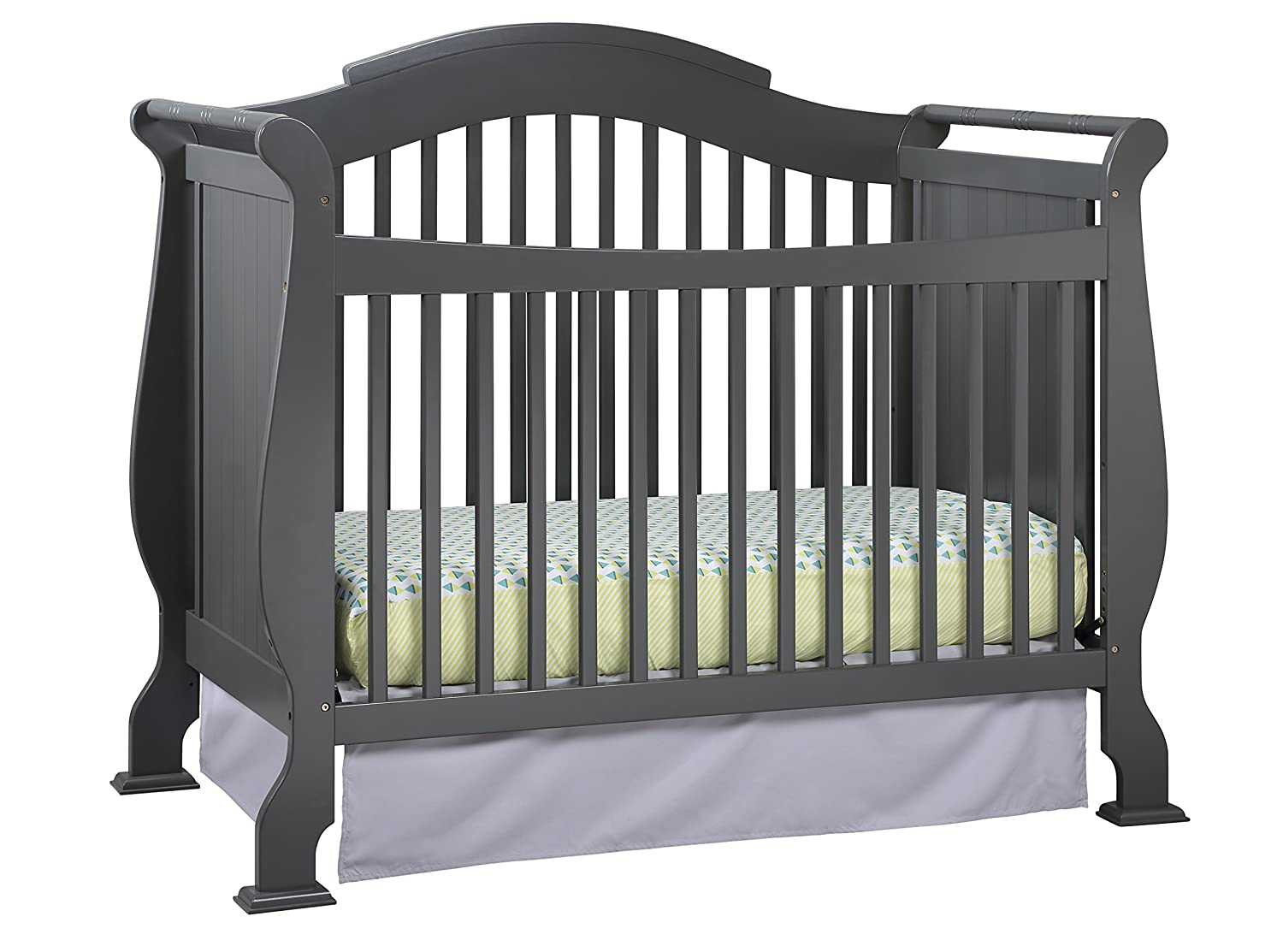 hayneedle and crib size calabria s n sorelle full storkcraft tuscany of with amazoncom changing elite cribs bed princeton convertible in set baby changer table