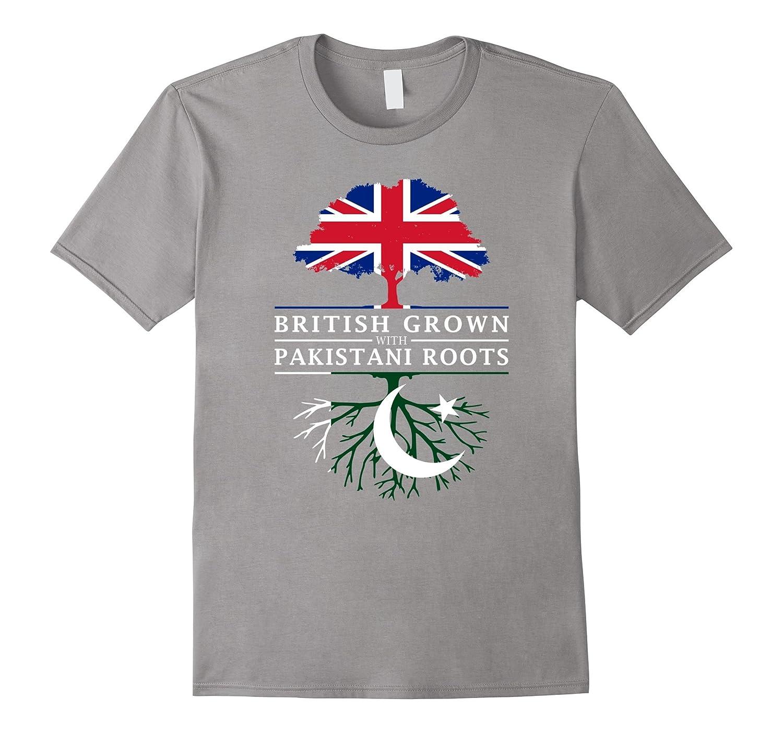 British Grown with Pakistani Roots T-Shirt - Pakistan Shirt-CD