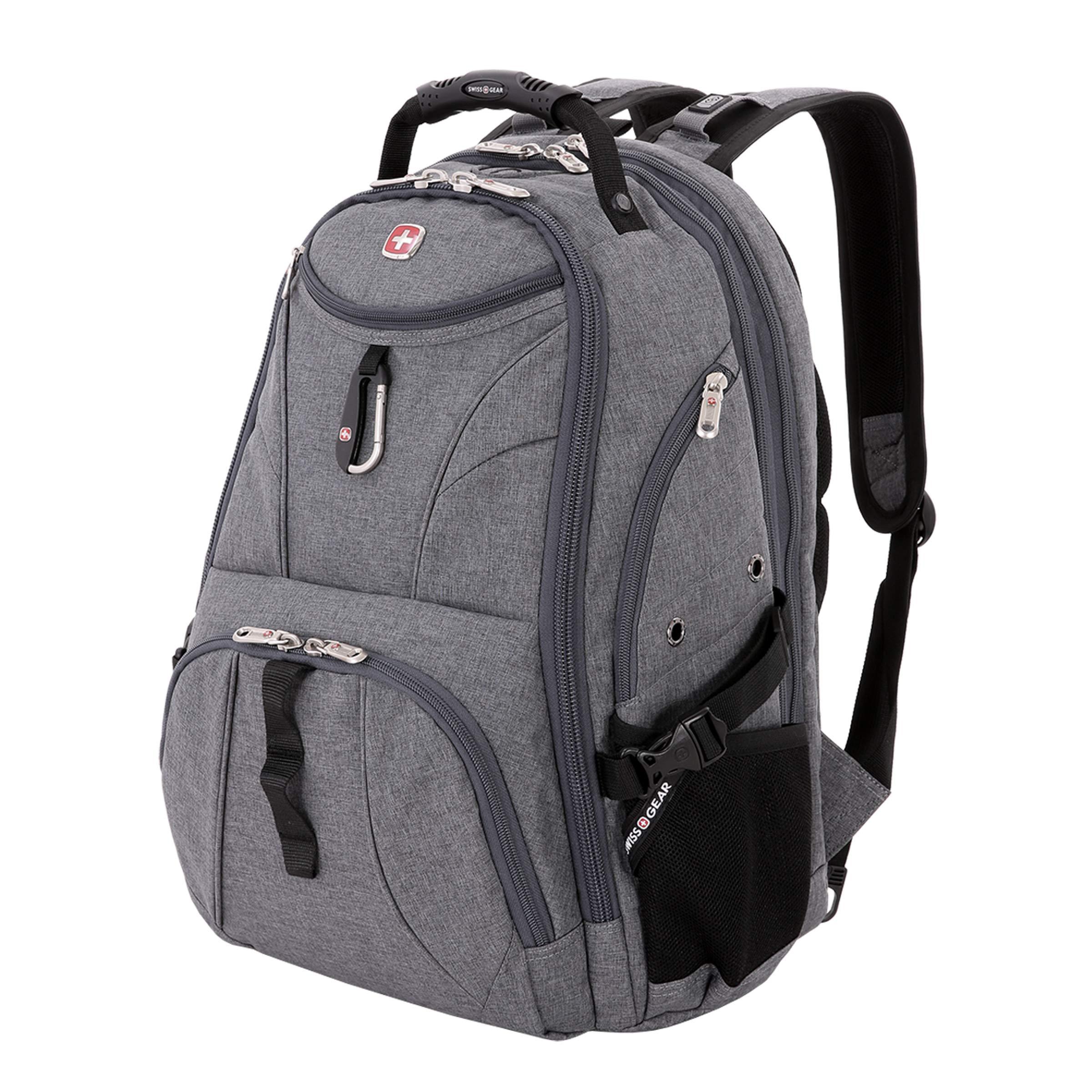 SwissGear 1900 Scansmart TSA Laptop Backpack - Grey Heather by Swiss Gear