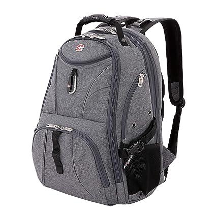 05a5e3cf57e0 SwissGear 1900 Scansmart TSA Laptop Backpack - Grey Heather