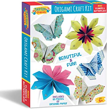 Amazon.com: Peachy Keen Crafts Beginners Origami Kit de ...