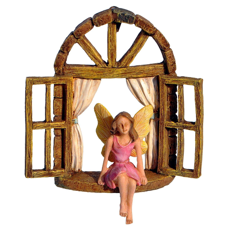 Arched Window for Miniature Garden, Fairy Garden