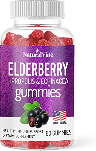 Natural Vine Premium Elderberry Gummie