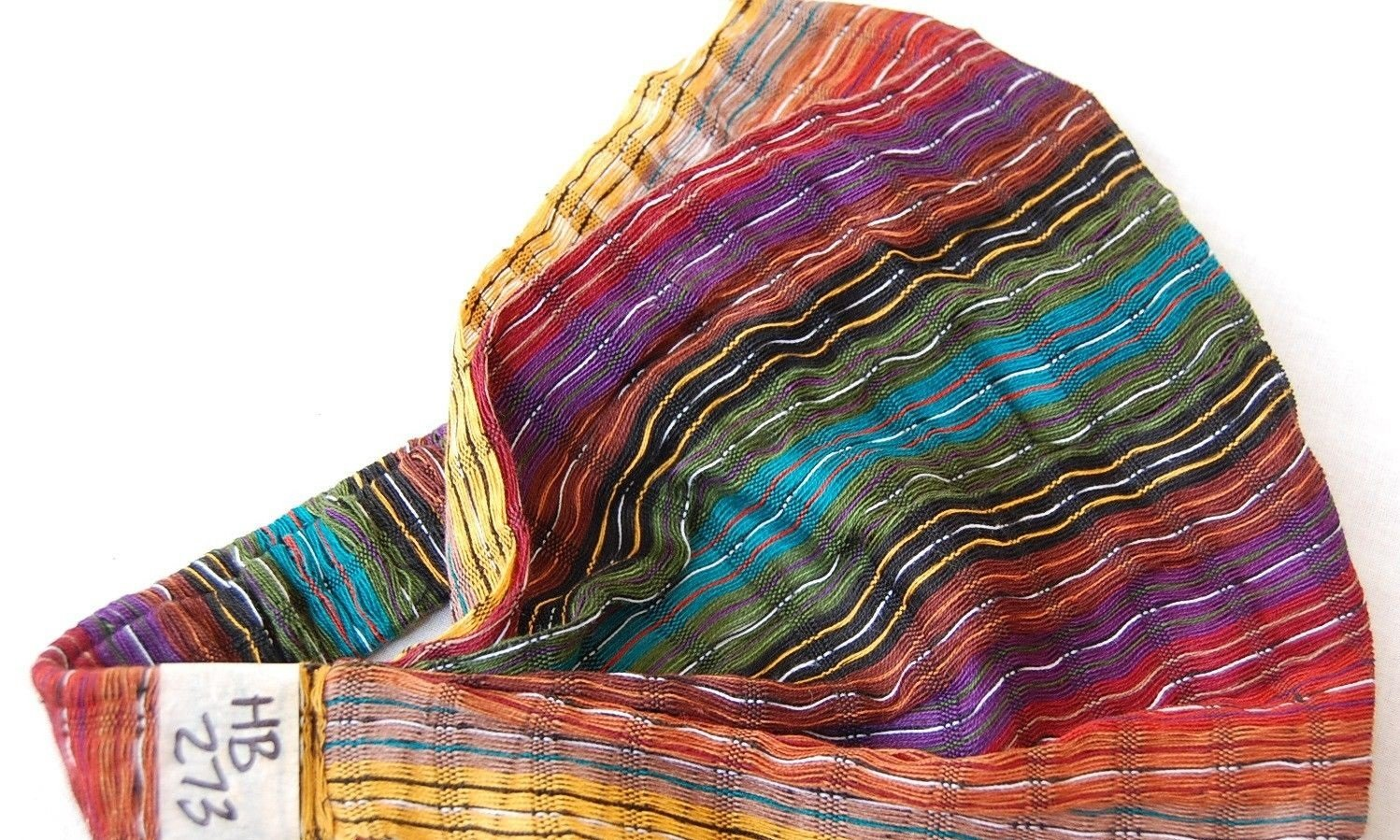 Wholesale 3 Cotton Headbands Hair Assortment Hand Woven Colorful Peru Fair Trade by Sanyork (Image #2)