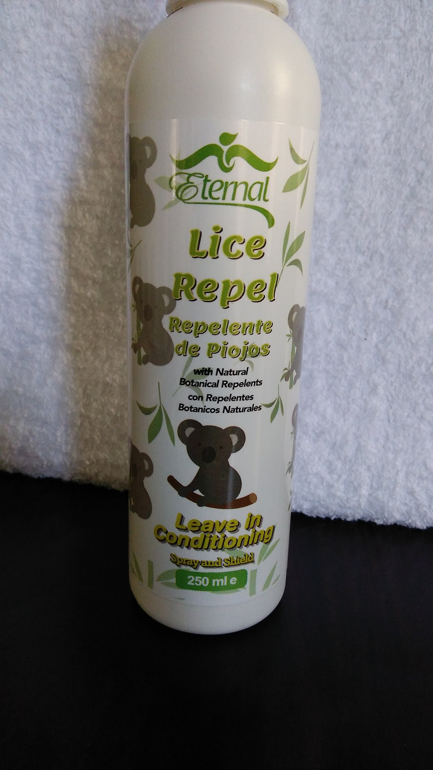 Eternal - Natural Lice Prevention Kit - 3 Product Head Lice Repel Kit Includes Shampoo, Conditioner, and Lice Repellant Spray ( with Rosemary, Keratin and collagen)