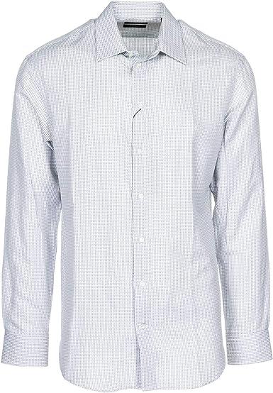 Emporio Armani Hombre Camisa Grigio 40 cm: Amazon.es: Ropa y accesorios