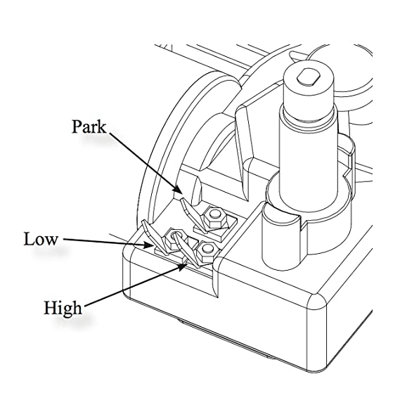 Amazon Com Wexco Wiper Motor 4r2 24 R110d Two And A Half Inch