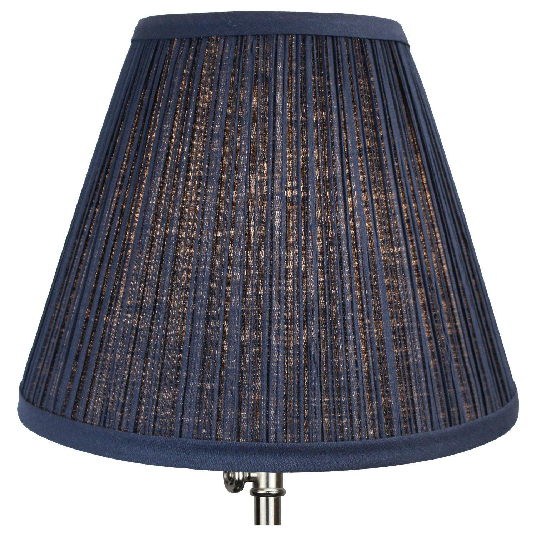 Amazon lamp shades tools home improvement - Fenchelshades Com Round Lamp Shade 5 Top 10 Bottom 8 Slant Height Navy Blue Blue Uno Lamp Shades Amazon Com