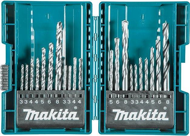 Beta Tools 004170106 Pack of 15 pcs 417 Metal Plates Cylindrical Masonry Drill Bit