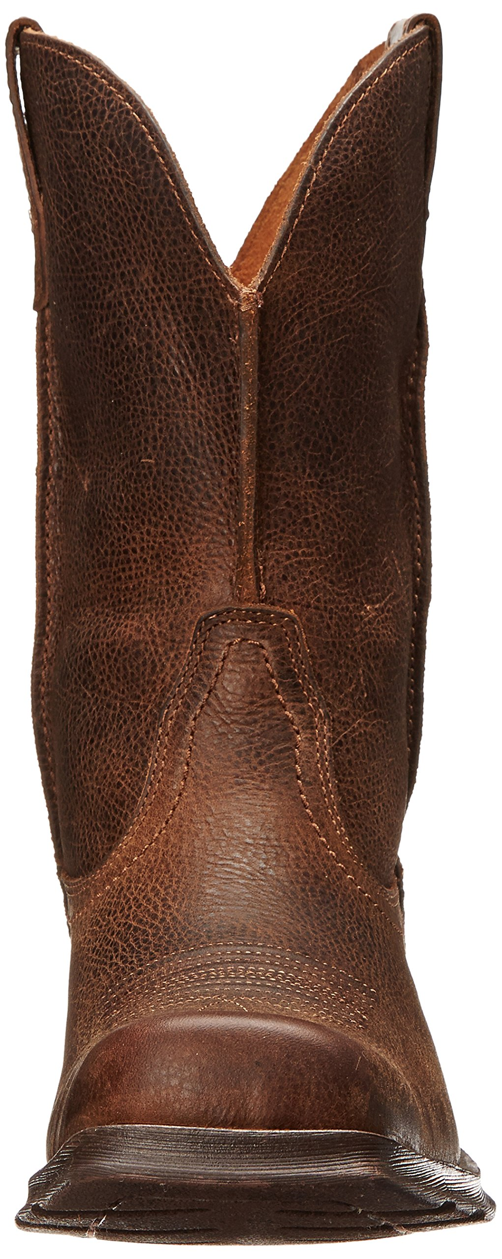 Ariat Men's Rambler Wide Square Toe Western Cowboy Boot, Wicker, 10 M US by ARIAT (Image #4)