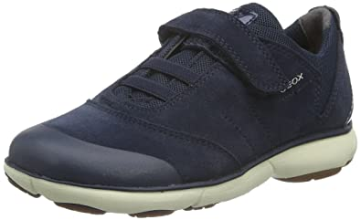 Geox Nebula A, Sneakers Basses Fille, Noir (Black), 29 EU