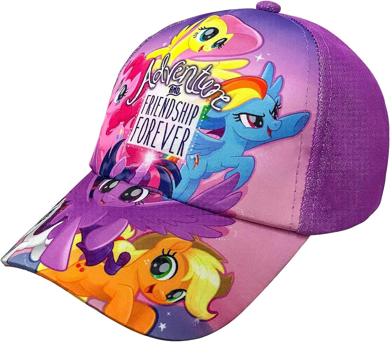Hasbro My Little Pony Little Girls Family Purple Baseball Cap Age 4-7