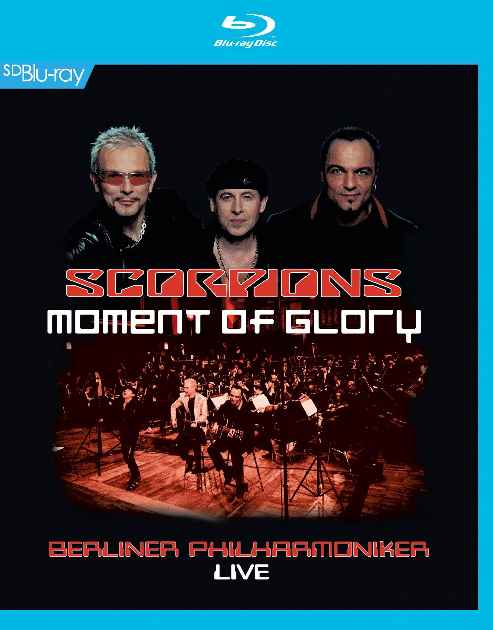 Blu-ray : Scorpions - Moment of Glory (Blu-ray)