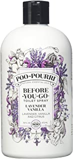 product image for PooPourri Lavender Vanilla Scent Refill Bottle 16 OZ (1)
