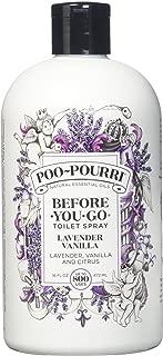 product image for PooPourri Lavender Vanilla Scent Refill Bottle 16 OZ (1)