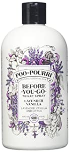 Poo-Pourri Lavender Scent 16 oz. Cream 16 Fl Oz