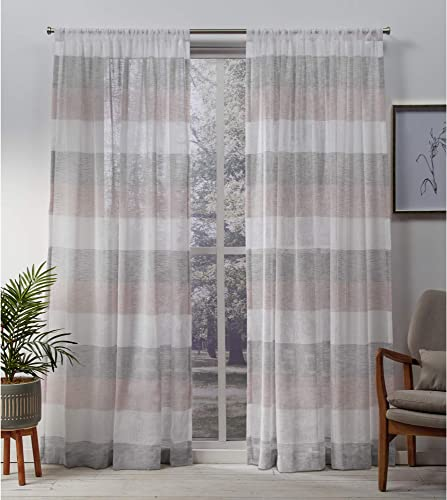 Exclusive Home Curtains Bern Panel Pair