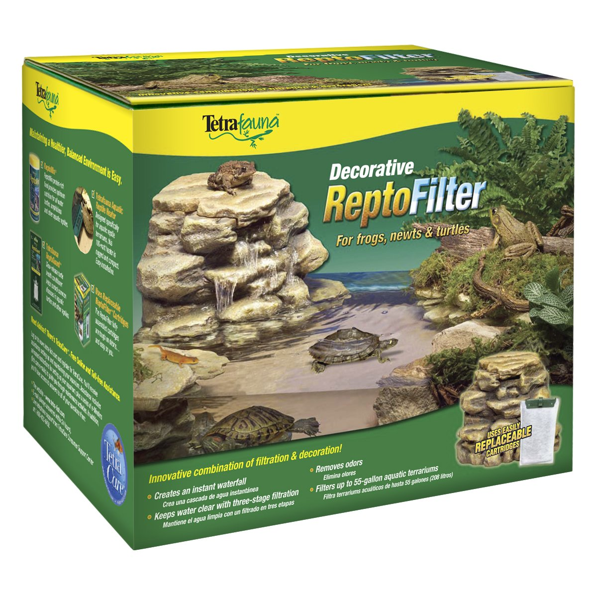 Tetra 25905 Decorative Reptile Filter for Aquariums up to 55 Gallons by Tetra