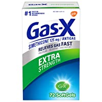 Gas-X Extra Strength Softgel for Fast Gas Relief, 72Count