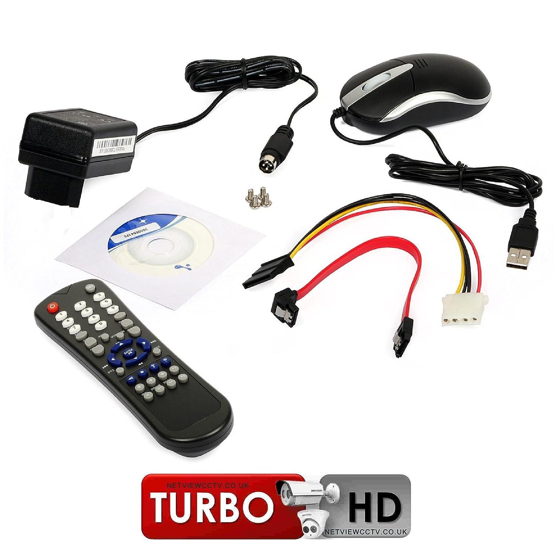 16 canales DVR Hikvision Turbo HD 1080P TVI ezviz ds-7216hgi-sh/A: Amazon.es: Electrónica