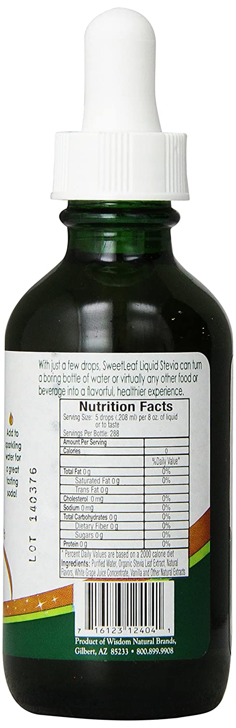 SweetLeaf Sweet Drops Liquid Stevia Sweetener, Root Beer, 2 ...