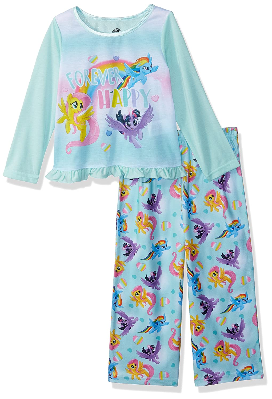 My Little Pony Girls Toddler Girls 2-Piece Pajama Set 21ML073TLLZA-P6
