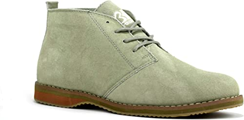 Suede Leather Desert Boots UK
